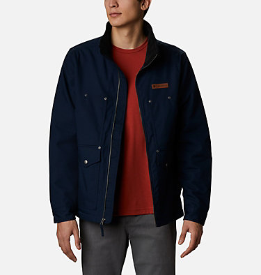 Men's Loma Vista™ Jacket Loma Vista™ Jacket | 023 | L, Collegiate Navy, Stone Green Plaid, front