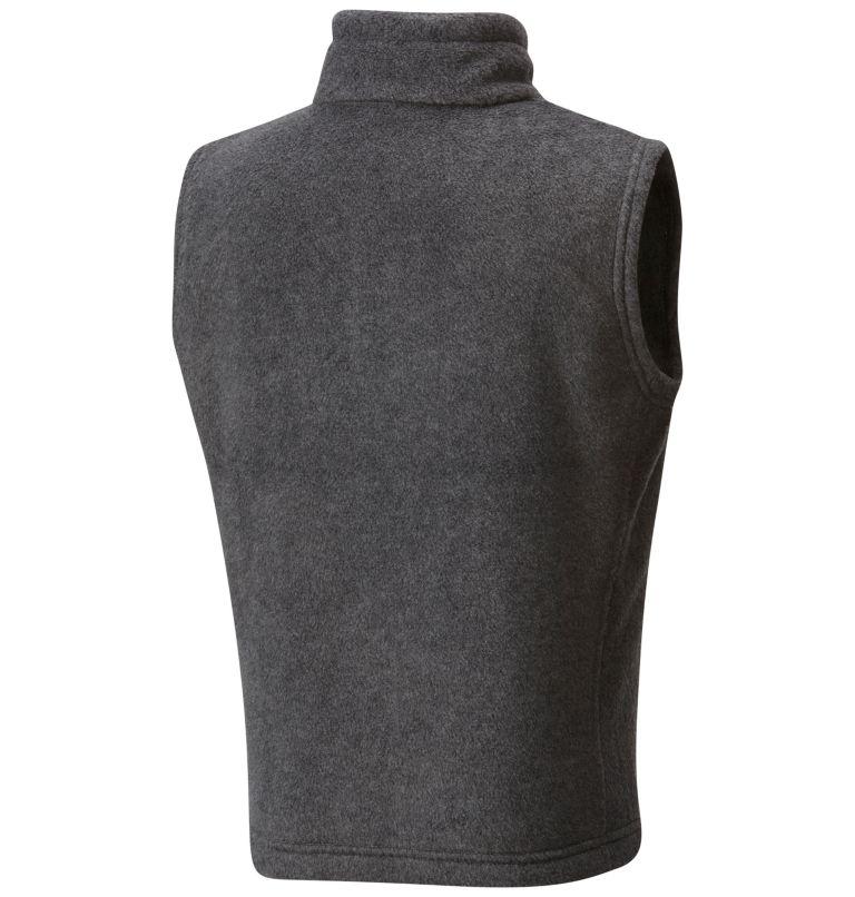 Steens Mtn™ Fleece Vest | 030 | XXS Boys' Steens Mountain™ Fleece Vest, Charcoal Heather, back