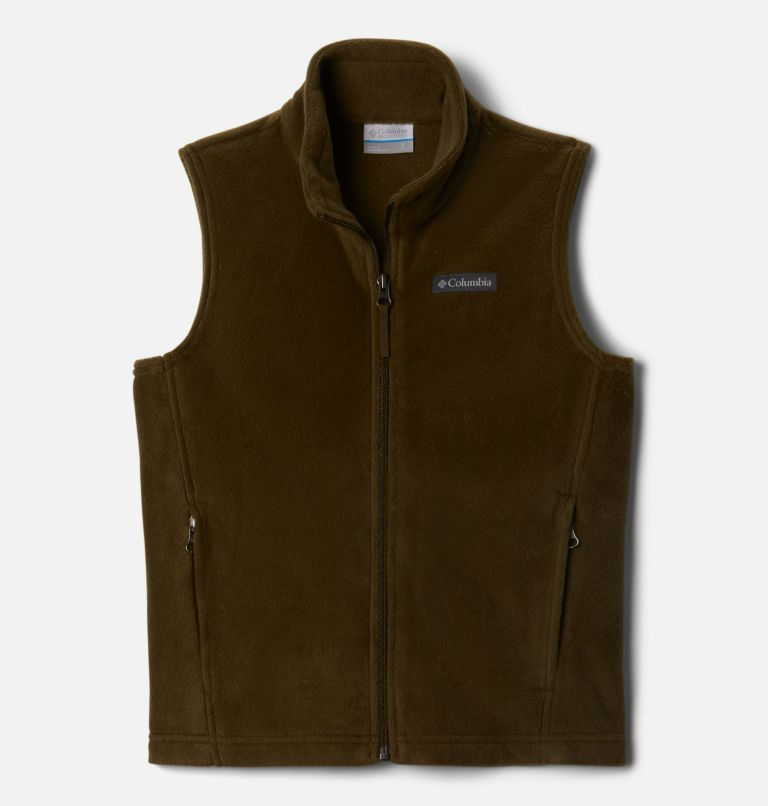 Boys' Steens Mountain™ Fleece Vest Boys' Steens Mountain™ Fleece Vest, front