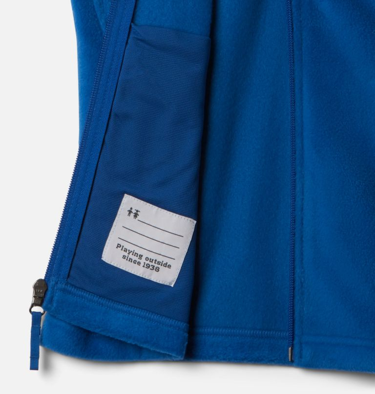Steens Mtn™ Fleece Vest | 432 | S Boys' Steens Mountain™ Fleece Vest, Bright Indigo, a1