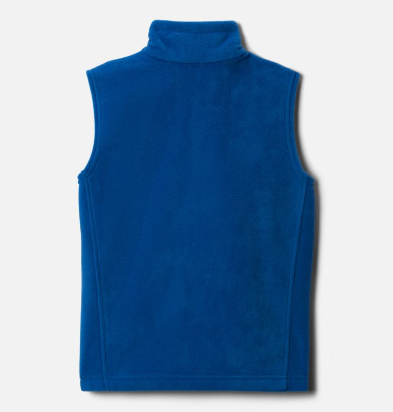 Steens Mtn™ Fleece Vest | 432 | S Boys' Steens Mountain™ Fleece Vest, Bright Indigo, back