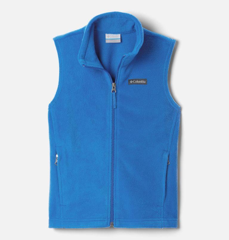 Steens Mtn™ Fleece Vest | 432 | L Boys' Steens Mountain™ Fleece Vest, Bright Indigo, front