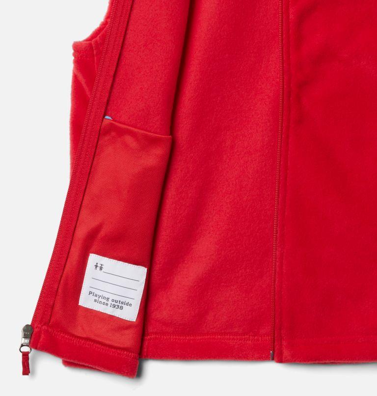 Steens Mtn™ Fleece Vest | 613 | XXS Boys' Steens Mountain™ Fleece Vest, Mountain Red, a1