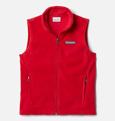 Boys' Steens Mountain™ Fleece Vest Steens Mtn™ Fleece Vest | 327 | M, Mountain Red, front