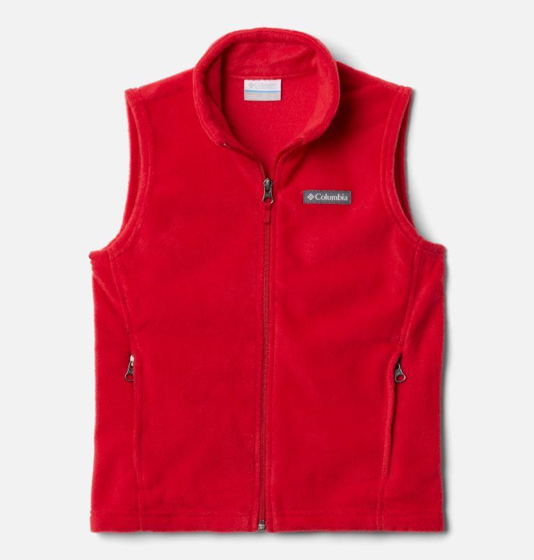 Steens Mtn™ Fleece Vest | 613 | XXS Boys' Steens Mountain™ Fleece Vest, Mountain Red, front