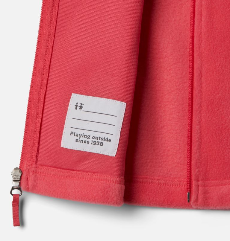 Benton Springs™ Fleece Vest | 673 | XL Girls' Benton Springs™ Fleece Vest, Bright Geranium, a1