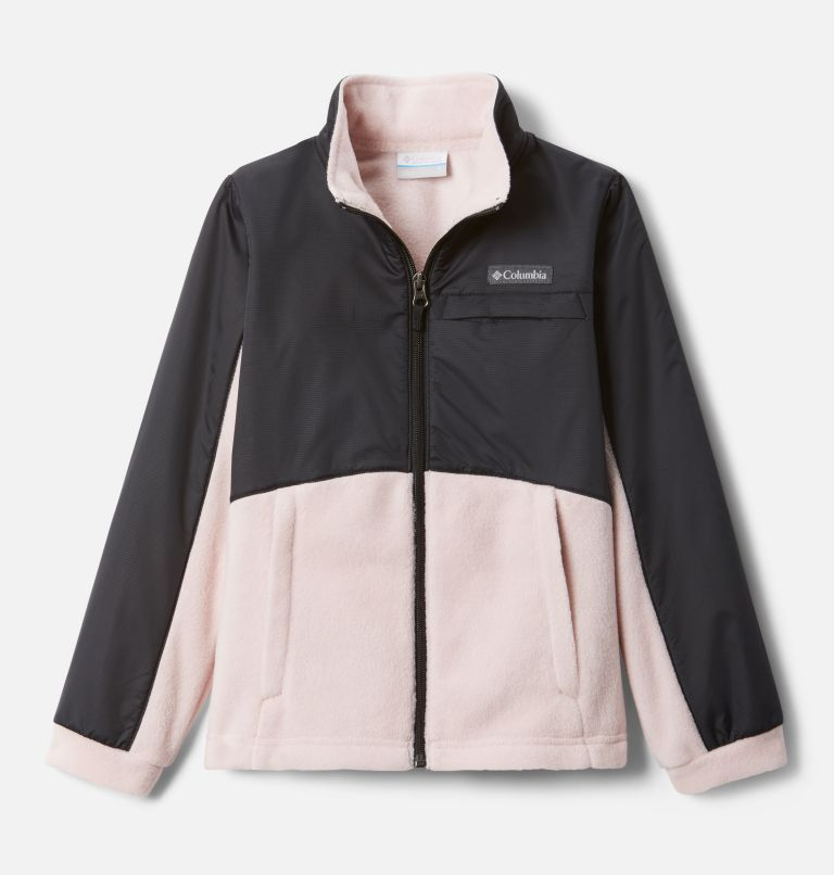 Girls' Benton Springs™ III Overlay Fleece Jacket Girls' Benton Springs™ III Overlay Fleece Jacket, front