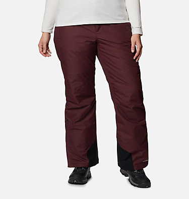 Women's Bugaboo™ Omni-Heat™ Pants - Plus Size Bugaboo™ OH Pant | 031 | 3X, Malbec, front