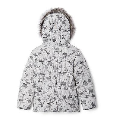Girl's Gyroslope™ Ski Jacket Gyroslope™ Jacket | 016 | L, Silver Grey Leaves, back