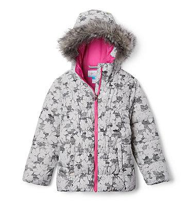 Girl's Gyroslope™ Ski Jacket Gyroslope™ Jacket | 695 | L, Silver Grey Leaves, front