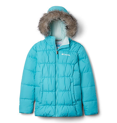 Girl's Gyroslope™ Ski Jacket Gyroslope™ Jacket | 016 | L, Geyser, front