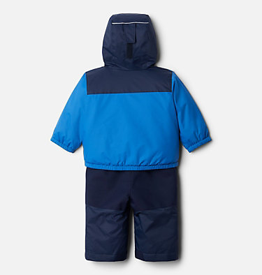 Infant Double Flake™ Snow Set Double Flake™ Set | 432 | 12/18, Bright Indigo, back