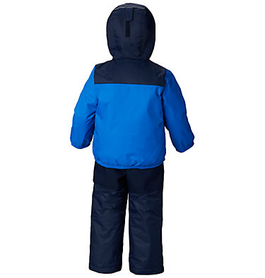 Infant Double Flake™ Snow Set Double Flake™ Set | 010 | 6/12, Super Blue, Collegiate Navy, back
