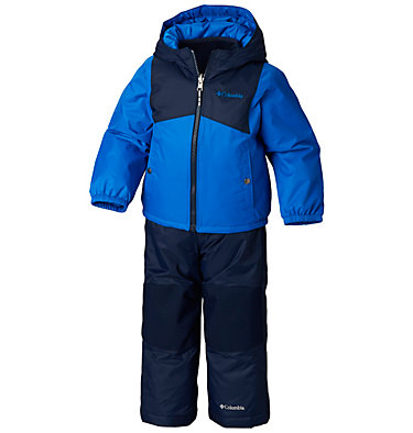 Infant Double Flake™ Snow Set Double Flake™ Set | 010 | 6/12, Super Blue, Collegiate Navy, front