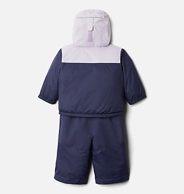 Infant Double Flake™ Snow Set Double Flake™ Set | 010 | 6/12, Nocturnal, Pale Lilac, back