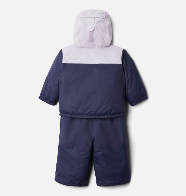 Double Flake™ Set | 466 | 6/12 Infant Double Flake™ Snow Set, Nocturnal, Pale Lilac, back