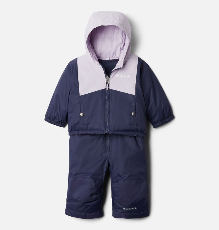 Double Flake™ Set | 466 | 6/12 Infant Double Flake™ Snow Set, Nocturnal, Pale Lilac, front