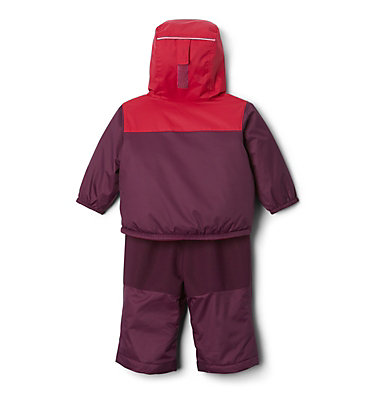 Infant Double Flake™ Snow Set Double Flake™ Set | 010 | 6/12, Purple Dahlia, Pomegranate, back