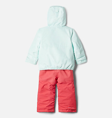 Toddler Buga™ Set Buga™ Set | 410 | 3T, Sea Ice Sparklers Print, Pink Orchid, back