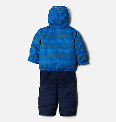 Toddler Buga™ Set Buga™ Set | 410 | 3T, Bright Indigo Dotscape Print, Brt Indigo, back