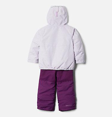Toddler Buga™ Set Buga™ Set | 410 | 3T, Pale Lilac Sparklers Print, Pale Lilac, back
