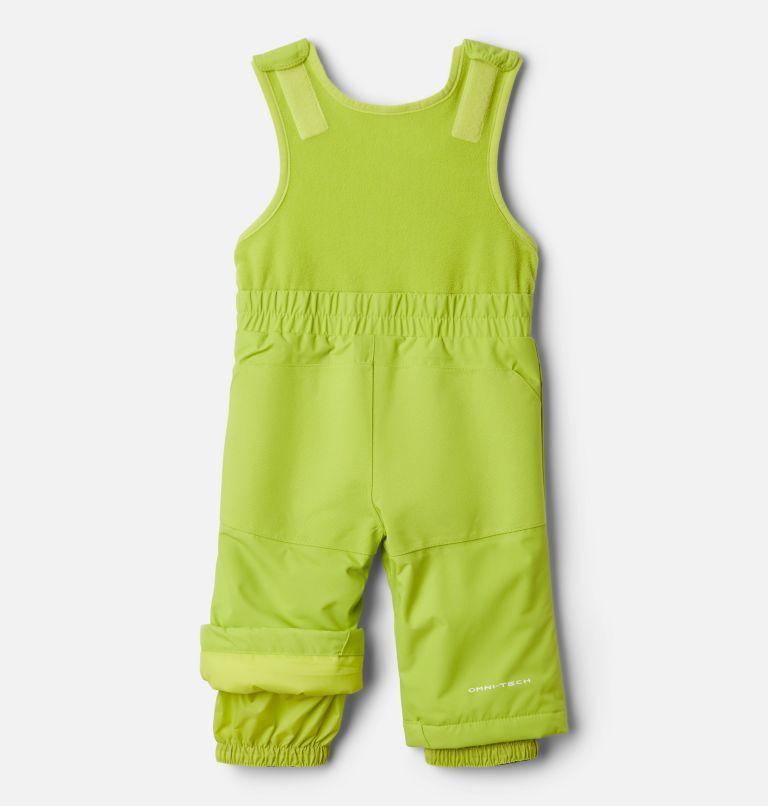Buga™ Set | 023 | 12/18 Infant Buga™ Jacket & Bib Set, City Grey Dotscape Print, Brt Chartreuse, a3