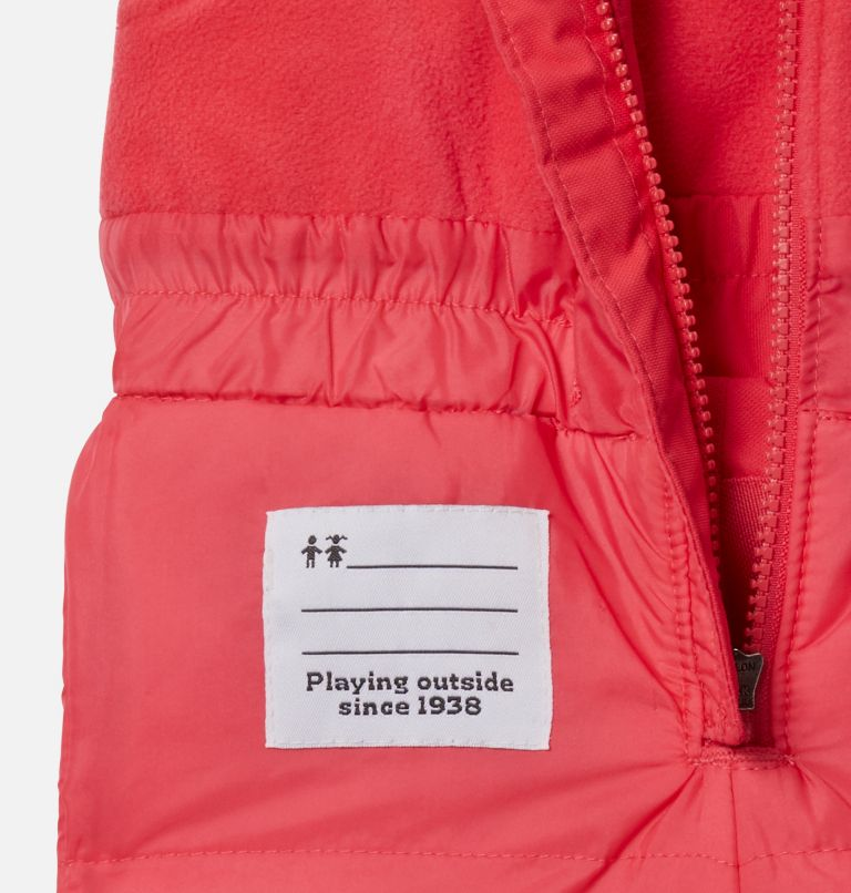 Buga™ Set | 310 | 6/12 Infant Buga™ Jacket & Bib Set, Sea Ice Sparklers Print, Pink Orchid, a4