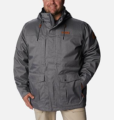 Men's Horizons Pine™ Interchange Jacket - Big Horizons Pine™ Interchange Jacket | 464 | 5X, City Grey, front