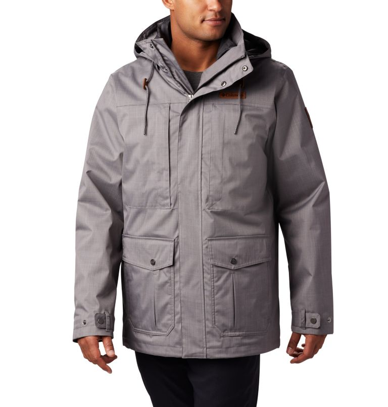 Horizons Pine™ Interchange Jacket | 023 | XLT Men's Horizons Pine™ Interchange Jacket - Tall, City Grey, front