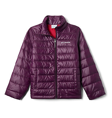 Kids' Airspace™ Down Jacket Airspace™ Down Jacket | 316 | M, Purple Dahlia, front