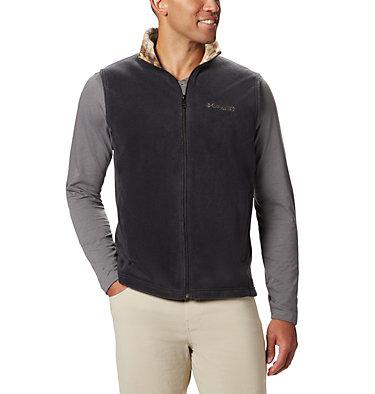 Men's PHG Fleece Vest PHG™ Fleece Vest | 632 | XL, Black, RT Edge, front