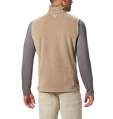 Men's PHG Fleece Vest PHG™ Fleece Vest | 632 | XL, Flax, RT Edge, back