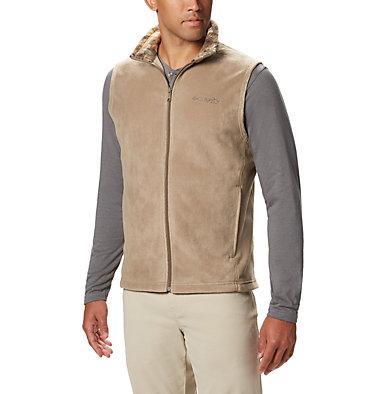 Men's PHG Fleece Vest PHG™ Fleece Vest | 632 | XL, Flax, RT Edge, front