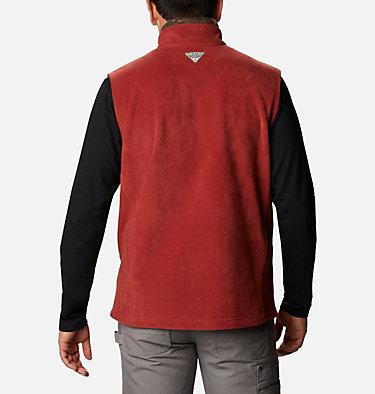 Men's PHG Fleece Vest PHG™ Fleece Vest | 632 | XL, Red Oxide, RT Edge, back