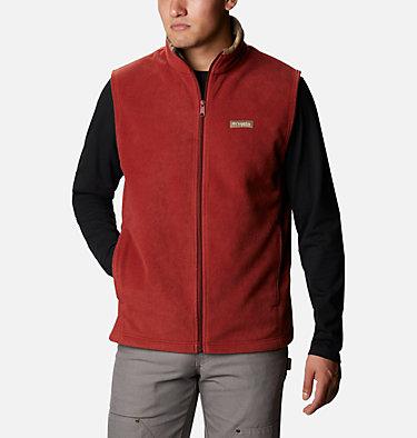 Men's PHG Fleece Vest PHG™ Fleece Vest | 632 | XL, Canyon Gold, RT Edge, front