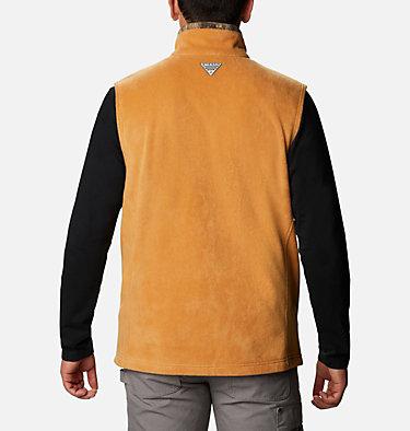 Men's PHG Fleece Vest - Tall PHG™ Fleece Vest | 708 | LT, Canyon Gold, RT Edge, back