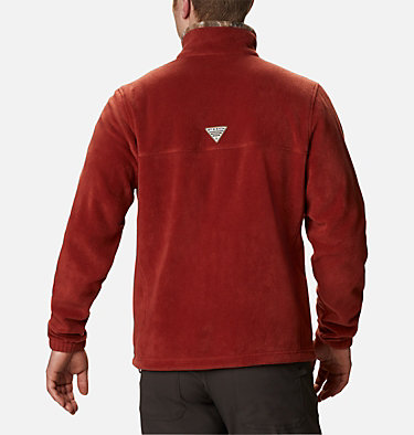 Men's PHG Fleece Jacket PHG™ Fleece Jacket | 708 | S, Red Oxide, RT Edge, back