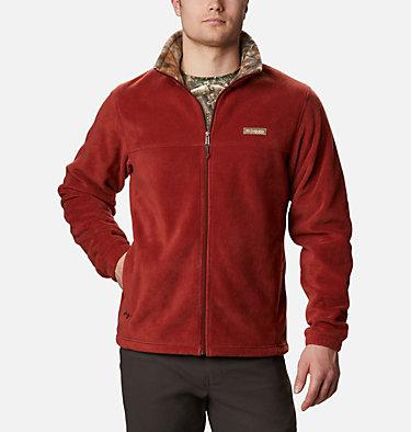 Men's PHG Fleece Jacket PHG™ Fleece Jacket | 708 | S, Red Oxide, RT Edge, front