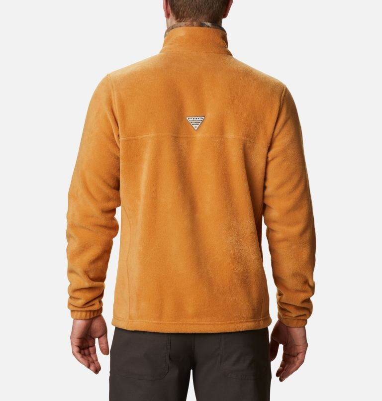 PHG™ Fleece Jacket | 708 | XL Veste polaire PHG™ pour homme, Canyon Gold, RT Edge, back