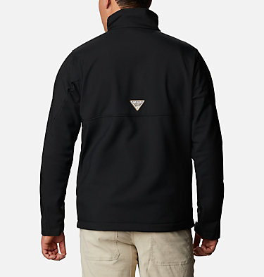 Men's PHG Ascender™ Softshell Jacket PHG Ascender™ Softshell Jacket | 251 | S, Black, RT Edge, back