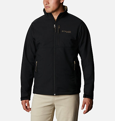 Men's PHG Ascender™ Softshell Jacket PHG Ascender™ Softshell Jacket | 251 | S, Black, RT Edge, front