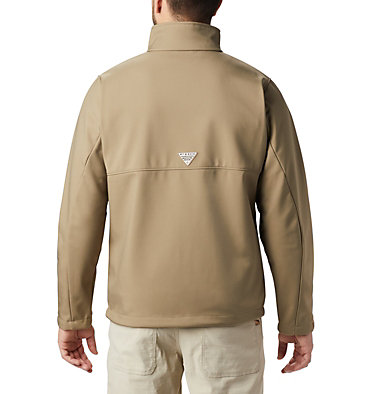 Men's PHG Ascender™ Softshell Jacket PHG Ascender™ Softshell Jacket | 251 | S, Flax, RT Edge, back