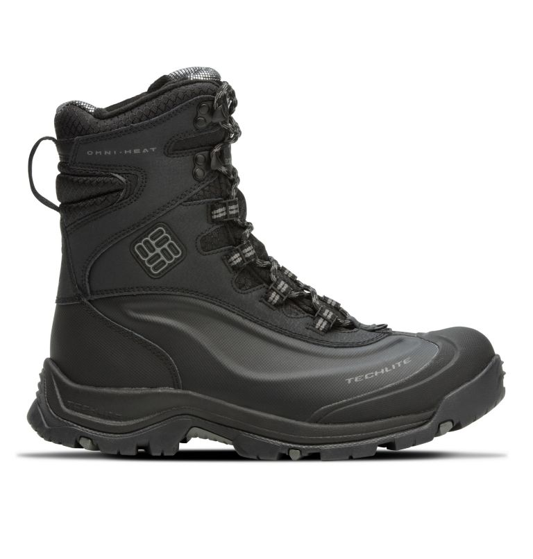 BUGABOOT™ PLUS III OMNI-HEAT™ | 010 | 11 Men's Bugaboot™ Plus III Omni-Heat™ Boot, Black, Charcoal, front