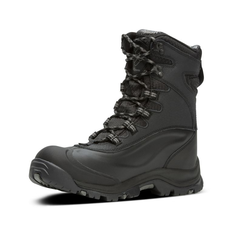 BUGABOOT™ PLUS III OMNI-HEAT™ | 010 | 11 Men's Bugaboot™ Plus III Omni-Heat™ Boot, Black, Charcoal