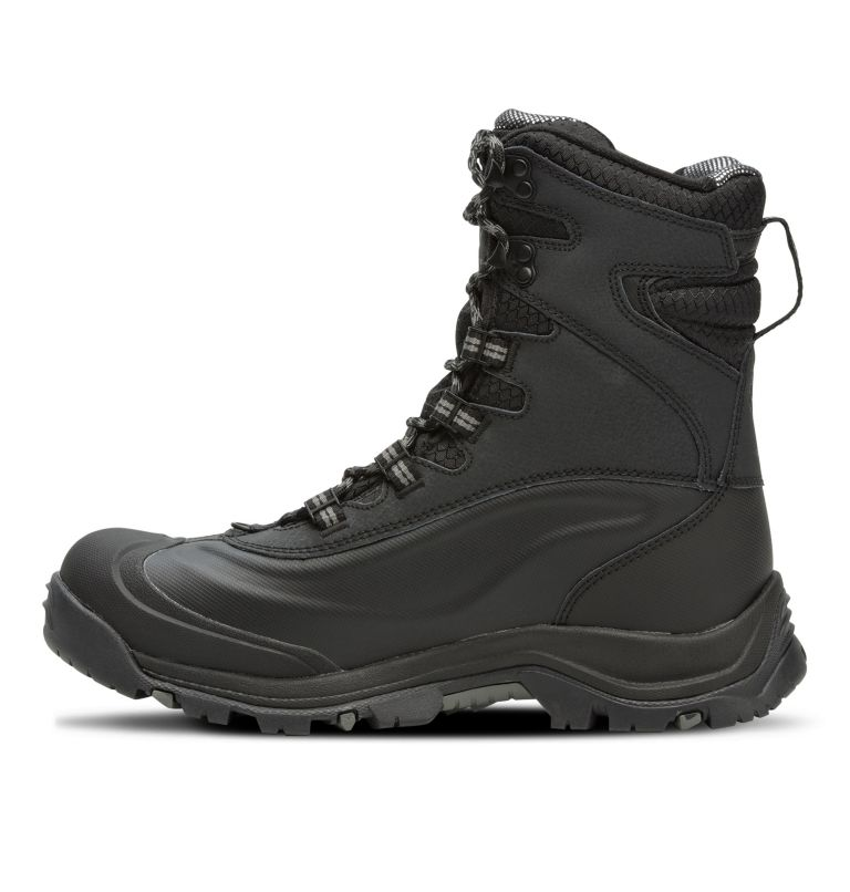 BUGABOOT™ PLUS III OMNI-HEAT™ | 010 | 11 Men's Bugaboot™ Plus III Omni-Heat™ Boot, Black, Charcoal, medial