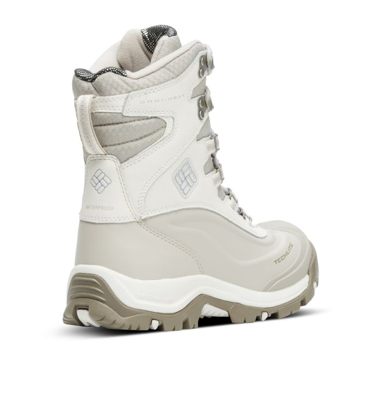 BUGABOOT™ PLUS III OMNI-HEAT™ | 125 | 6.5 Women's Bugaboot™ Plus III Omni-Heat™ Boot, Sea Salt, Twilight, 3/4 back