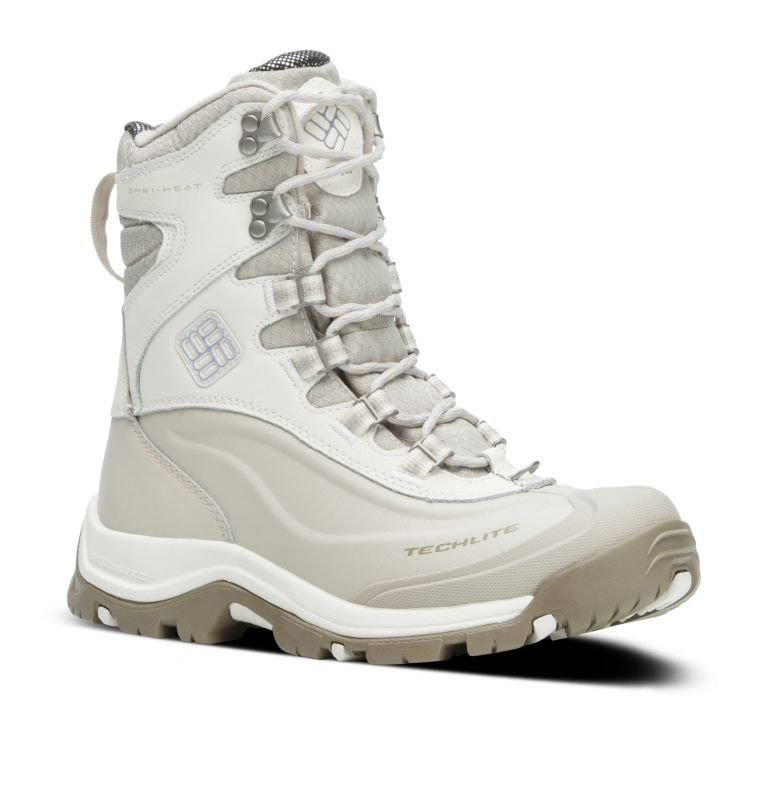 BUGABOOT™ PLUS III OMNI-HEAT™ | 125 | 6.5 Women's Bugaboot™ Plus III Omni-Heat™ Boot, Sea Salt, Twilight, 3/4 front