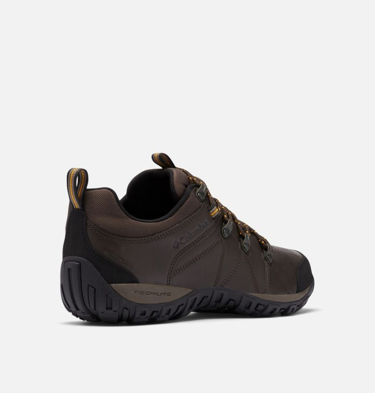 PEAKFREAK™ VENTURE WATERPROOF | 231 | 7.5 Men's Peakfreak™ Venture Waterproof Shoe, Cordovan, Squash, 3/4 back