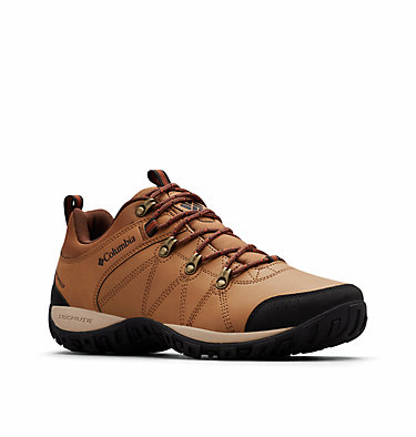 Men's Peakfreak™ Venture Waterproof Shoe PEAKFREAK™ VENTURE WATERPROOF | 286 | 10, Elk, Dark Adobe, 3/4 front