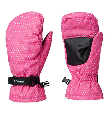 Kids' Core™ Mittens Y Core™ Mitten | 100 | L, Pink Ice Sparkler, front